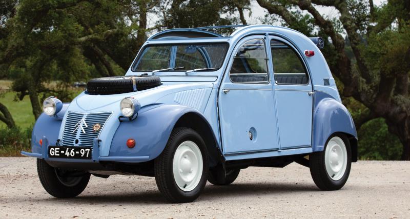 Citroën 2CV 4x4 Sahara : un des 693 exemplaires à vendre aux enchères