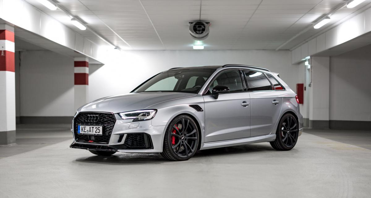 Audi RS3 : les photos de la version boostée par ABT