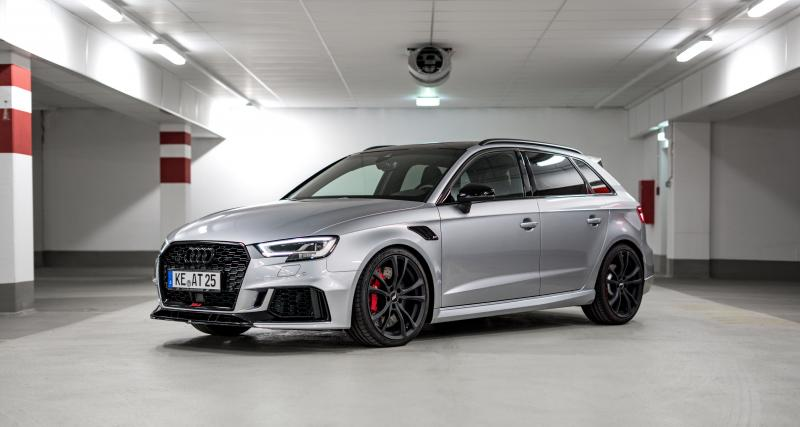 Audi RS3 : les photos de la version boostée par ABT