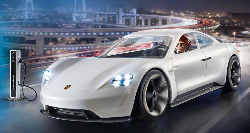 Playmobil passe aussi à l'électrique avec la Porsche Mission E