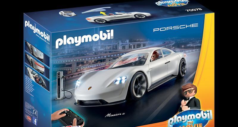 Le concept 100% électrique par Porsche