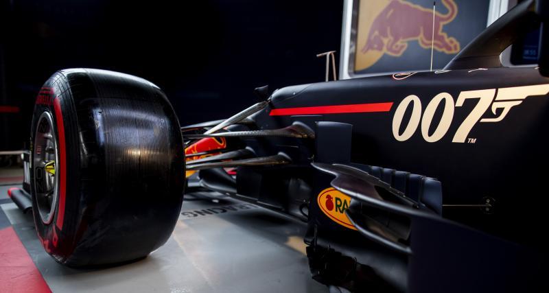 Grand Prix de Grande-Bretagne : l'hommage des Red Bull à James Bond…