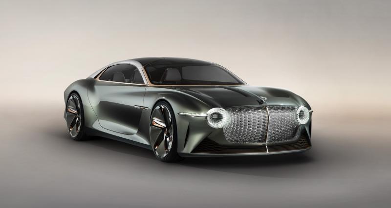 Bentley EXP 100 GT : le concept électrique et autonome en 3 points