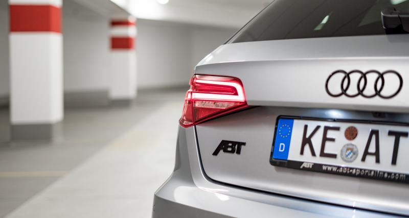 Quelles caractéristiques techniques pour l'Audi RS3 par ABT ?