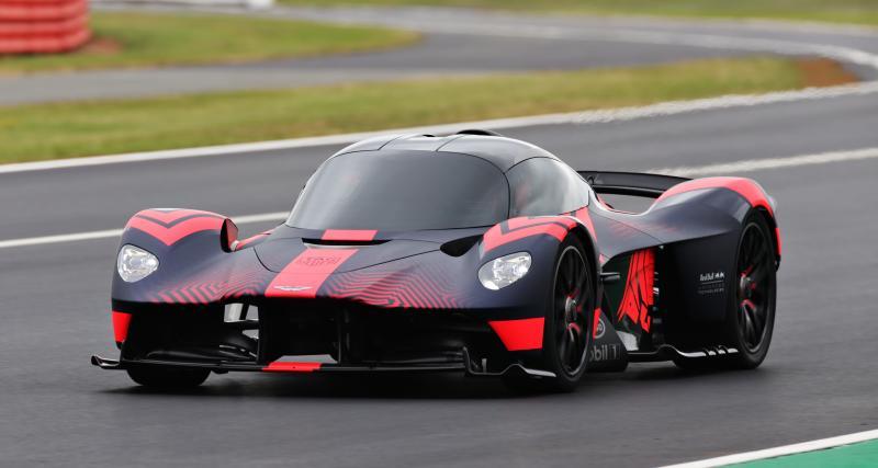 Aston Martin Valkyrie : les débuts d'une hypercar à Silverstone