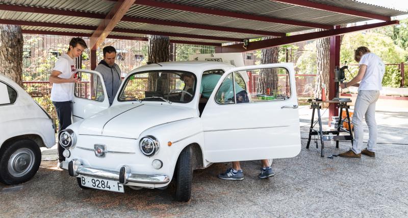 Seat 600 électrique : rencontre entre passé et futur (photos)