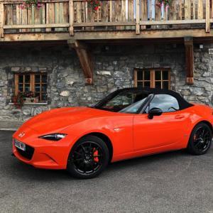 Essai de la Mazda MX-5 30ème anniversaire : orange pressée