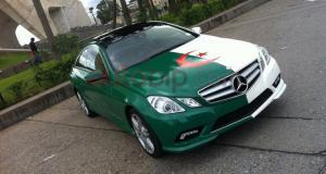 Finale de la CAN 2019 - Les voitures personnalisées des supporters de l'Algérie