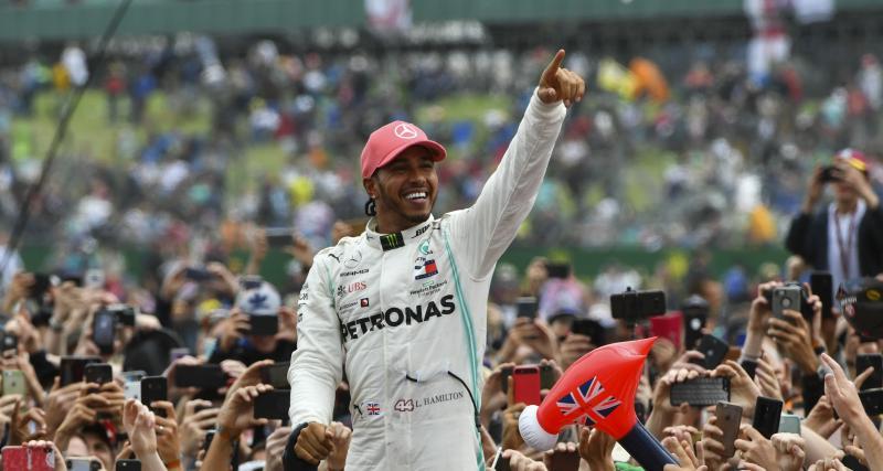 Formule 1 - saison 2019 : les résultats de Lewis Hamilton en course (vidéo)