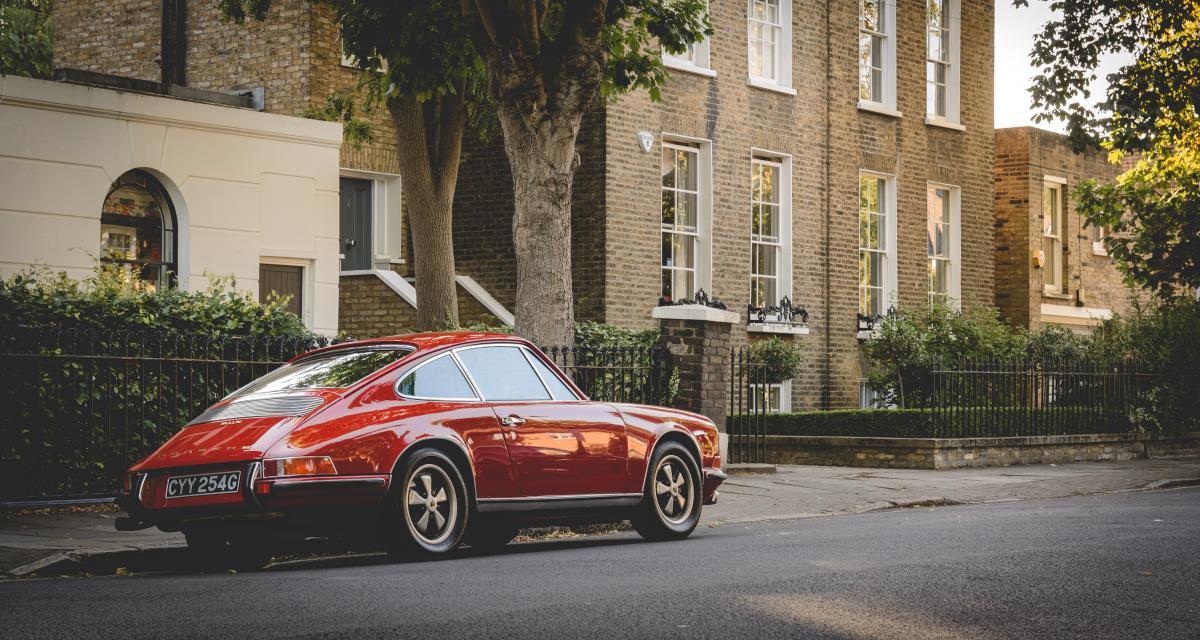 Voitures Extravert Quintessenza : coup de jus sur la Porsche 911 classic