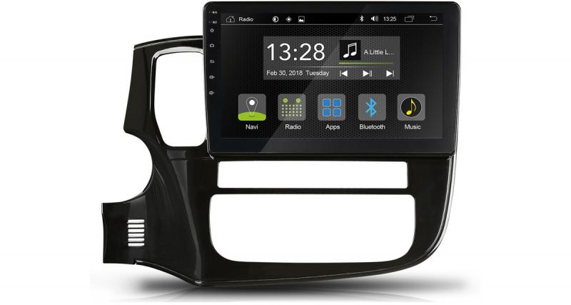 Radical commercialise un autoradio Android pour le Mitsubishi Outlander