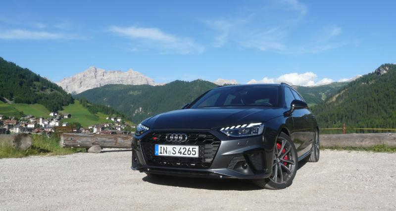 Essai de l'Audi S4 TDI : diesel masqué, sportive ouatée