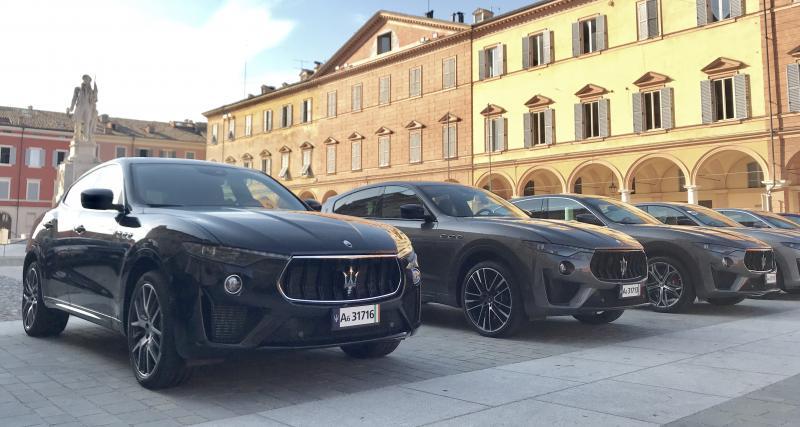 Essai des Maserati Levante Trofeo et GTS : nos photos à Modène en Italie