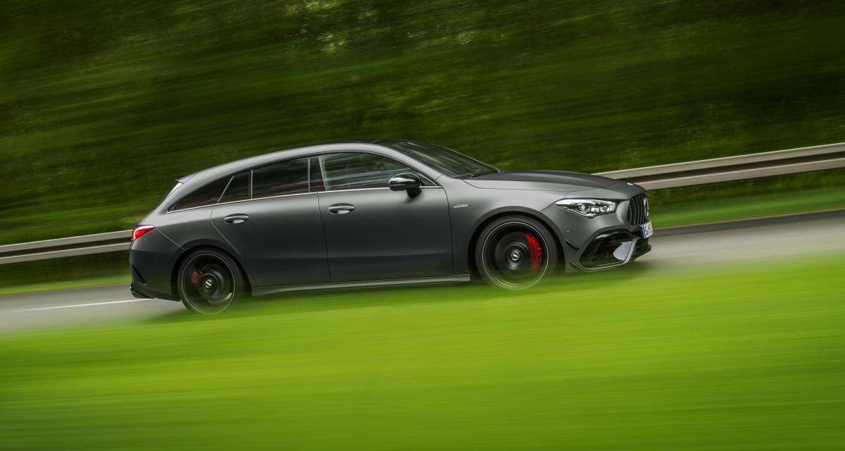 Mercedes-AMG CLA 45 Shooting Brake : les photos officielles du petit break teuton