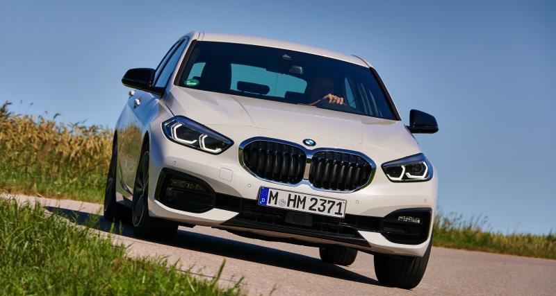 Nouvelle BMW Série 1: les photos de l'essai international à Munich
