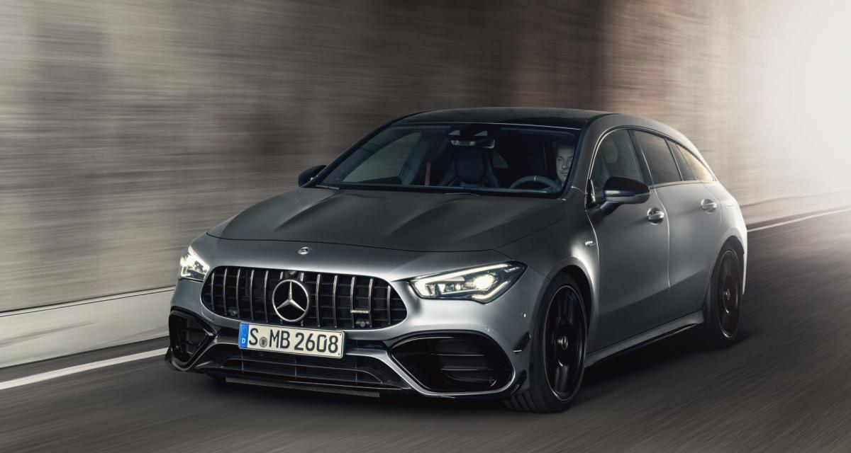 Mercedes-AMG CLA 45 S Shooting Brake : au tour du break