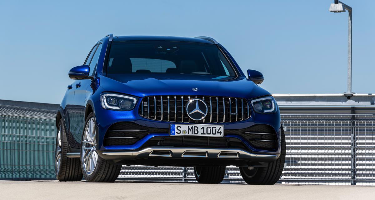 Mercedes-AMG GLC 43 et GLC Coupé 43 : les photos des SUV en version sportive