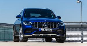 Mercedes-AMG GLC 43 et GLC Coupé 43 : les photos des SUV en version sportive