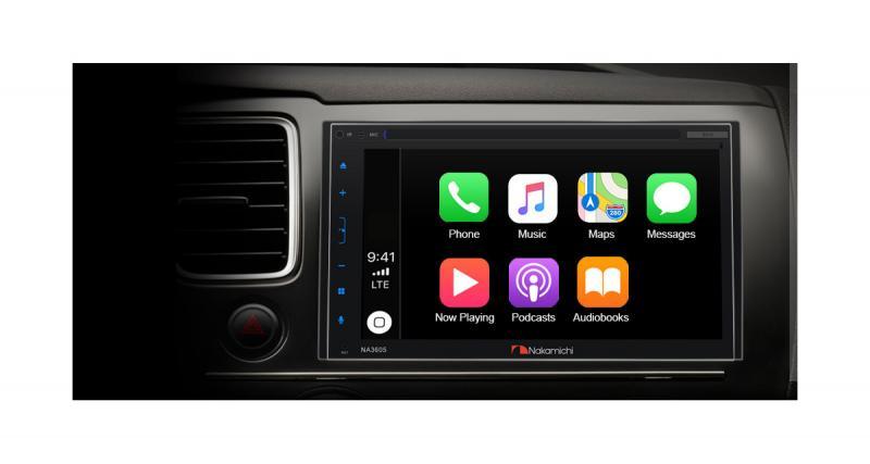 Nakamichi revient sur le marché américain du car audio avec un autoradio CarPlay