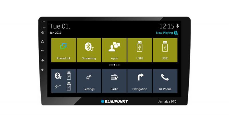 Un autoradio Android 10 pouces Blaupunkt sur le marché indien
