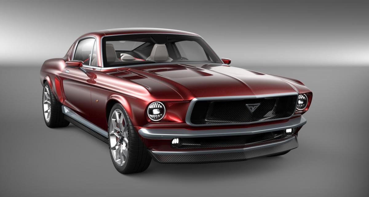 Aviar R67 : le mutant Ford Mustang /Tesla Model S en 3 points