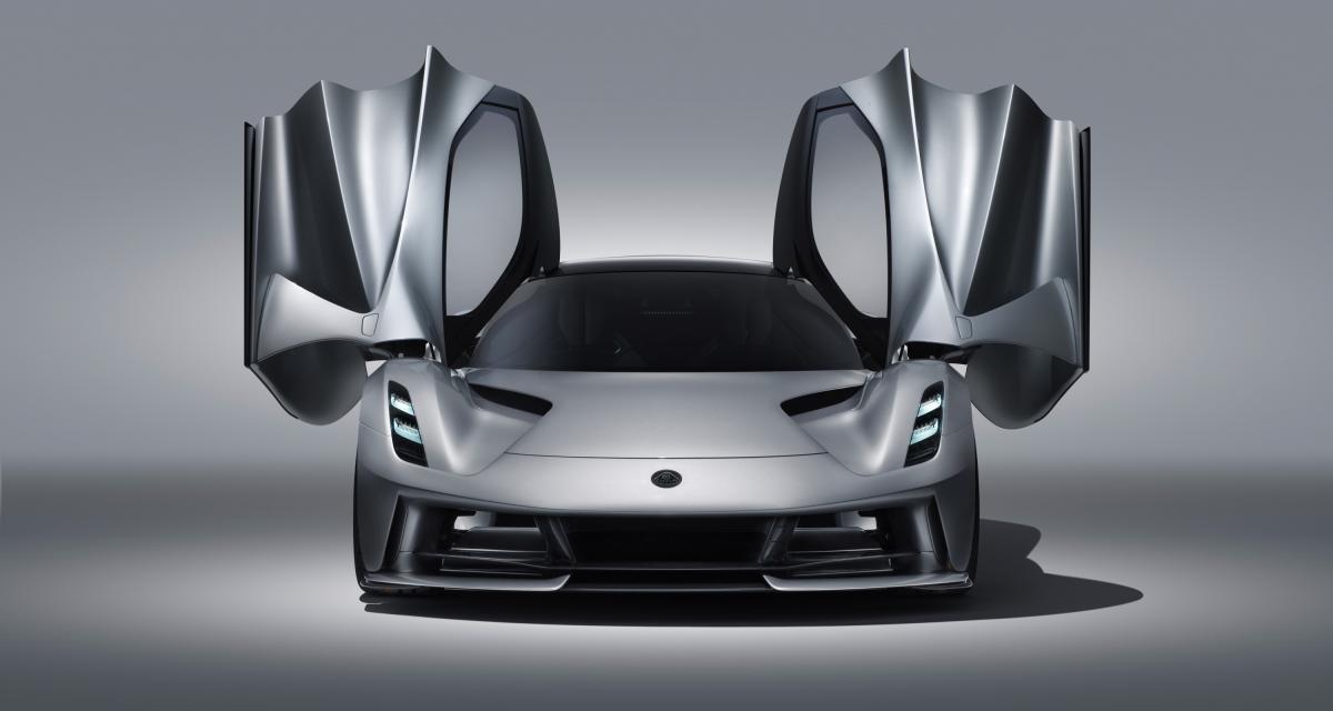 La Lotus Evija électrique de 2000 chevaux en 4 points
