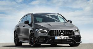 Mercedes-AMG CLA 45 Shooting Brake : le break de chasse en 4 points