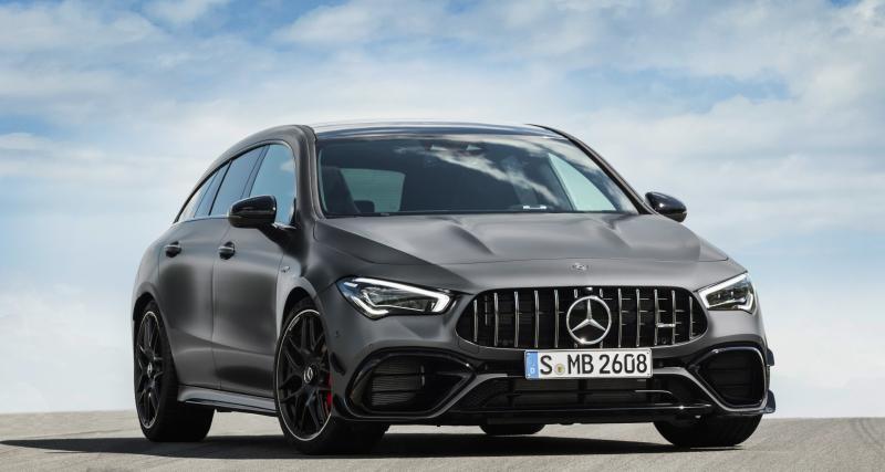 Mercedes-AMG CLA 45 Shooting Brake : le break de chasse en 4 points