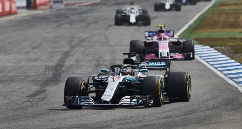 Découvrez le nouveau design des Mercedes pour le GP d'Allemagne !