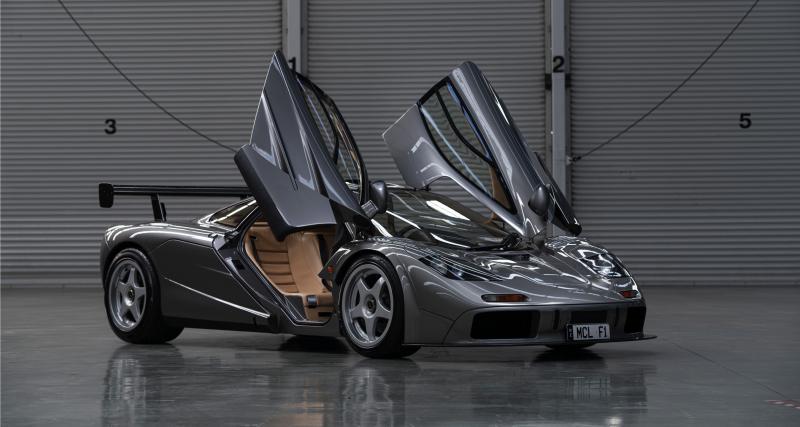 McLaren F1 LM : toutes les photos de la supercar extrême à vendre aux enchères
