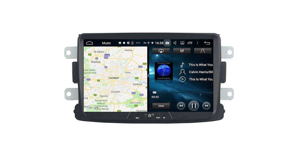 Un autoradio Android 9.0 pour les Dacia chez Belsee