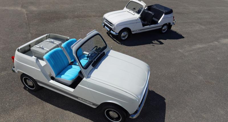 Renault e-Plein Air : le moteur du Twizy, le style de la 4L