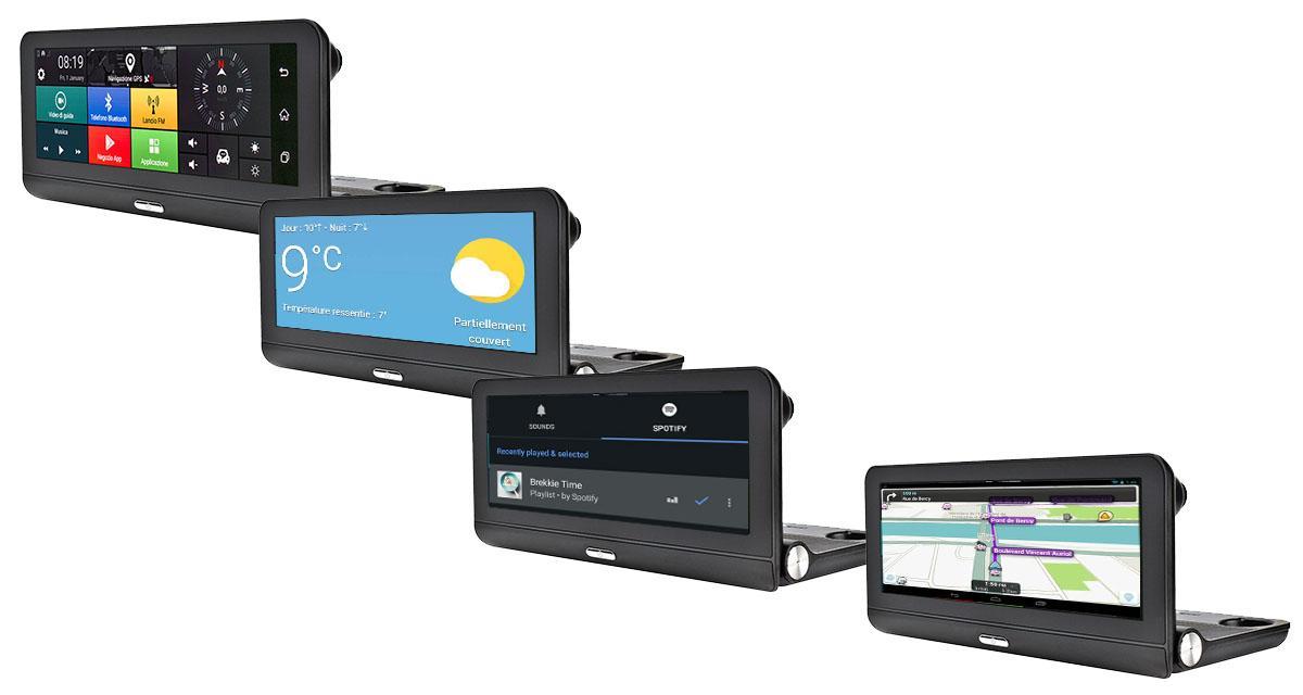 Phonocar dévoile un système multimédia Android intégrant une dash cam