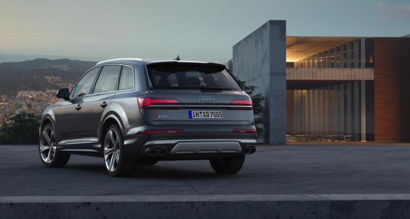 Toutes les photos du nouveau Audi SQ7 2020