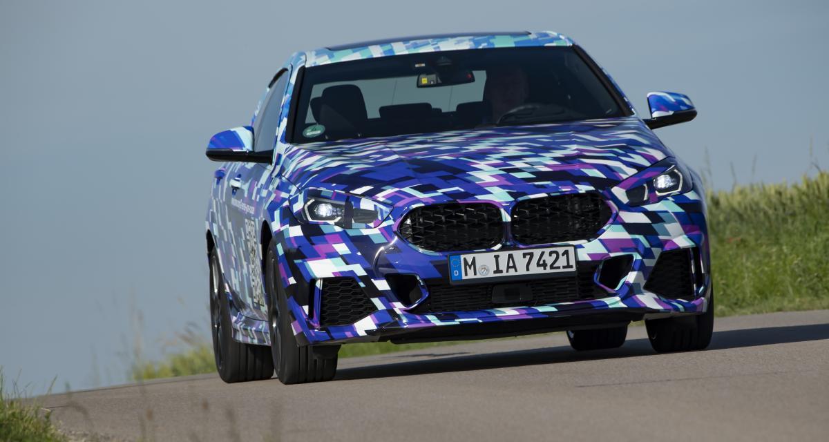 Nouvelle BMW Série 2 Gran Coupé : un QR code pour patienter jusqu'en novembre