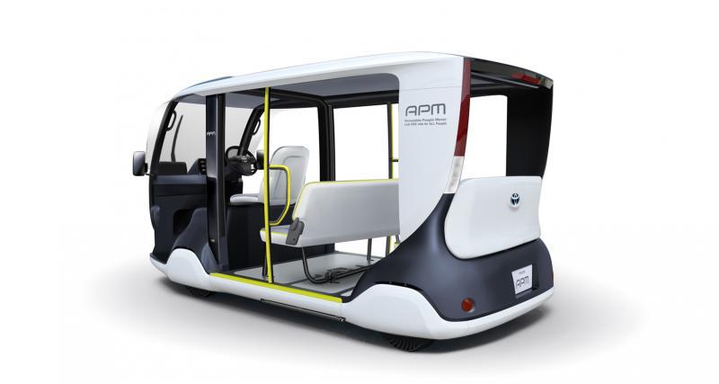 Toyota APM : un véhicule 100% électrique pour les Jeux Olympiques de Tokyo 2020