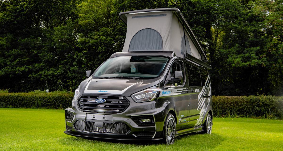 Ford Transit Custom : un camping-car personnalisé par QVM