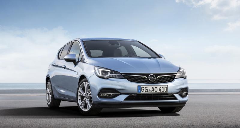 Opel Astra et Opel Astra Sports Tourer : les finitions et les prix