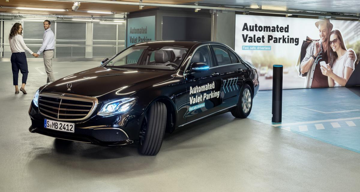 Voitures autonomes : d'abord dans le parking