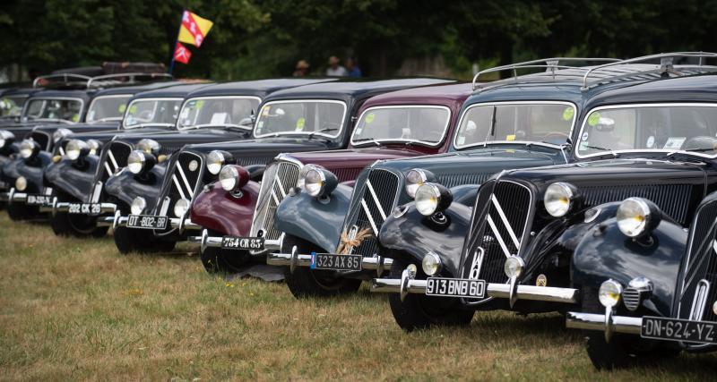 100 ans de Citroën : les photos du rassemblement historique à la Ferté-Vidame