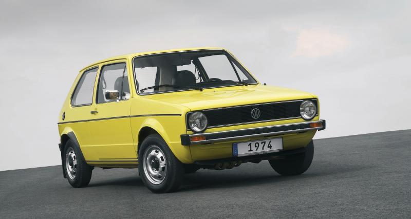 La Volkswagen de Golf, ou l'inverse...