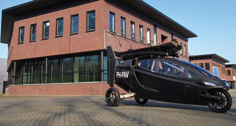 La voiture volante : bientôt une réalité avec PAL-V ?