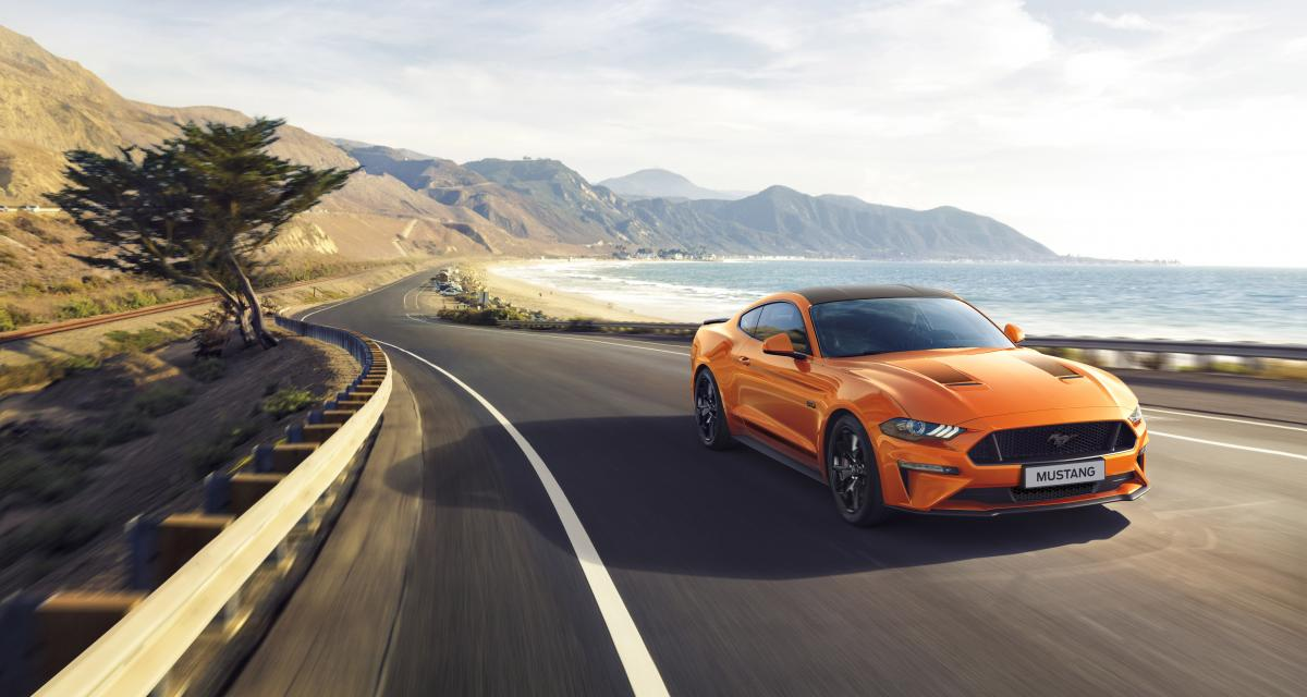 Ford Mustang55 : une édition anniversaire