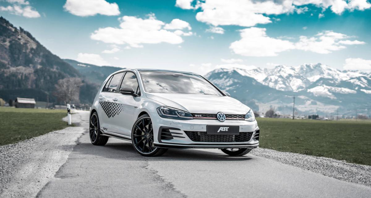 Volkswagen Golf GTI ABT : la puissance grimpe en flèche