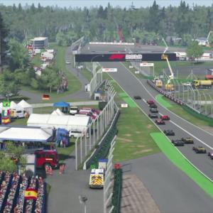 Grand Prix d'Allemagne de F1 : on a simulé la course sur F1 2019 (vidéo)