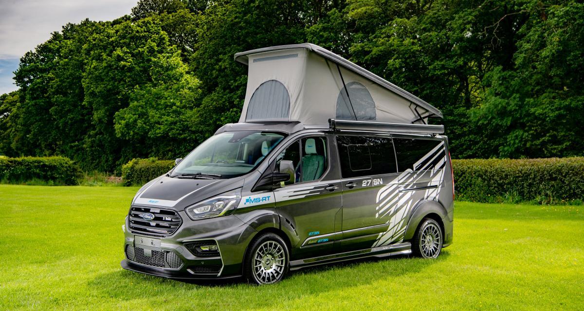 Ford Transit Custom : le van personnalisé de Steve North en 3 points