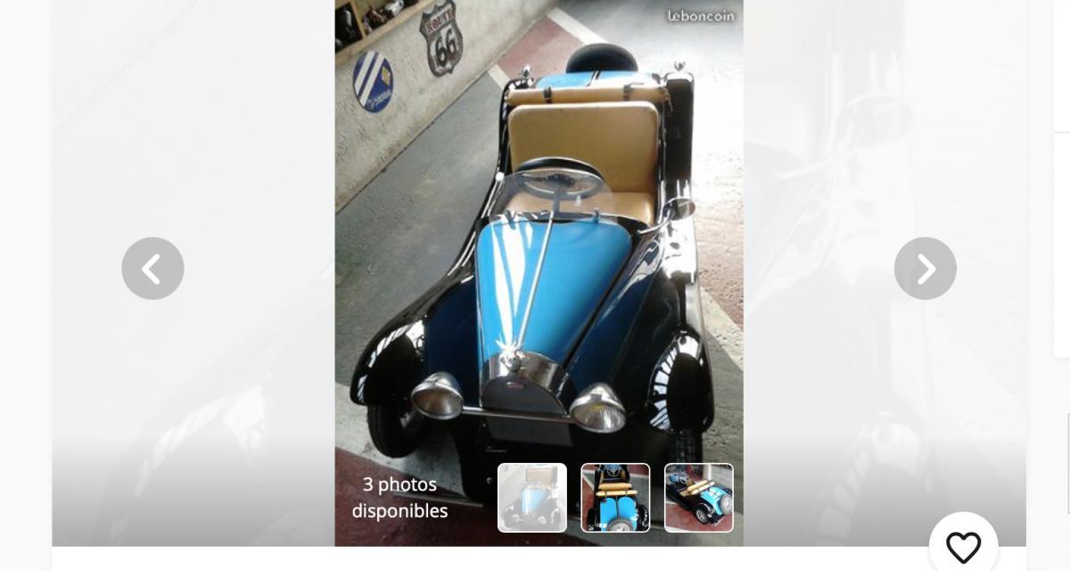 Une Bugatti Type 55 Junior à 10.000 ¬ sur leboncoin !
