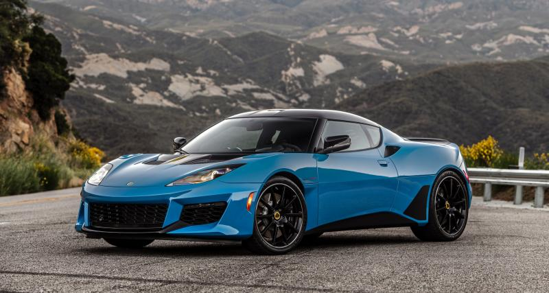 Lotus Evora GT : une Evora millésime 2020 pour le marché américain
