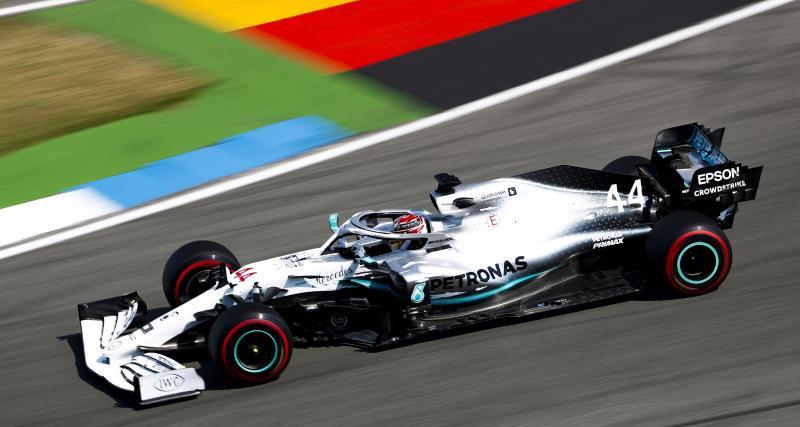 Grand Prix d'Allemagne de F1 : Hamilton en pole position, la grille de départ