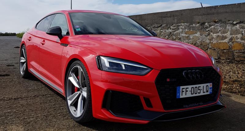 Essai Audi RS 5 Sportback : nos impressions au volant de la familiale survoltée d'Audi